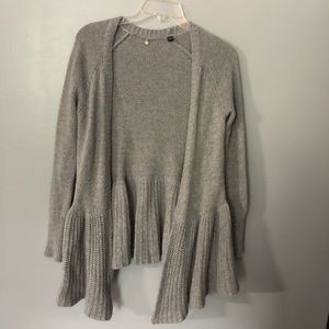 Knitted and knotted Anthropologie cardigan S